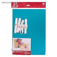 Набор для упаковки, виридан, крафт, 0,7 х 1 м х 2, лента 15 мм х 3 м х 4