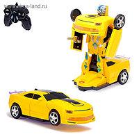 Робот радиоуправляемый «Автобот», трансформируется, световые и звуковые эффекты