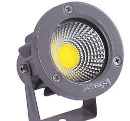 Светильник для сада TD-D014 LED 3W COB 4000K Gray (TT)