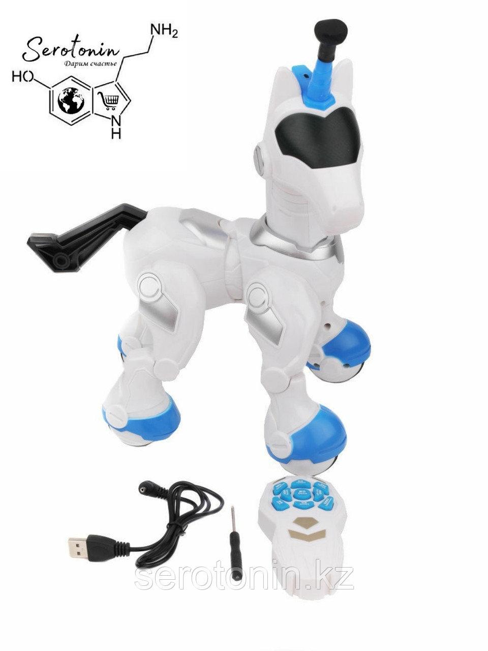 Робот Единорог на пульте  управлении