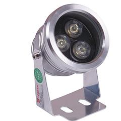 Светильник для сада 3x1W 4000K Серый алюминий IP65 (TT)