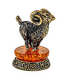 Сувенир знак зодиака Овен на постаменте. Ручная работа, фото 2