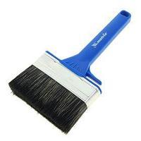 Кисть плоская Mаtrix, для водных красок, 120х25 мм, ручка пластик, натур.щетина (комплект из 2 шт.)