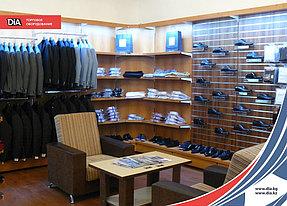 Множество дополнительных комплектующих и индивидуальный подход помогают сотрудникам компании DiA создавать самые оригинальные конструкции, которые делают интерьер магазина не только привлекательным, но и многопрофильным.
