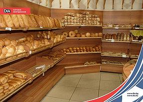 Магазины хлебобулочных изделий должны выглядеть более чем привлекательно. Опытные бизнесмены стараются создать атмосферу, которая будет «будить у посетителей аппетит», сделать это помогли металлические стеллажи, оформленные с помощью ЛДСП.