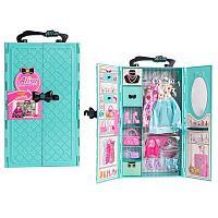 Барби чемодан гардероб