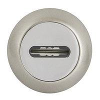 Накладка Fuaro SC RM SN/CP-3, под сувальдный ключ, цвет матовый хром/хром, 1 шт.