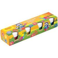 Пальчиковые краски Мульти-Пульти 'Приключения Енота', 4 цвета по 35 мл, для малышей 1 (комплект из 4 шт.)