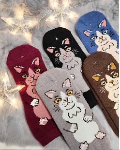 Милые носочки - котики
