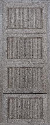 Обувница 4 сек Ф002 Гармонь ребро Дуб скальный темный, фото 2