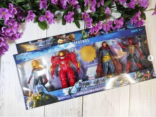 Набор игрушек Супер Герои