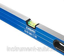 Уровень СИБИН усиленный, 2 фрезерованные поверхности, 3 ампулы (1 поворотная на 360 град), с ручками, фото 3
