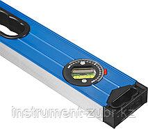 Уровень СИБИН усиленный, 2 фрезерованные поверхности, 3 ампулы (1 поворотная на 360 град), с ручками, фото 2