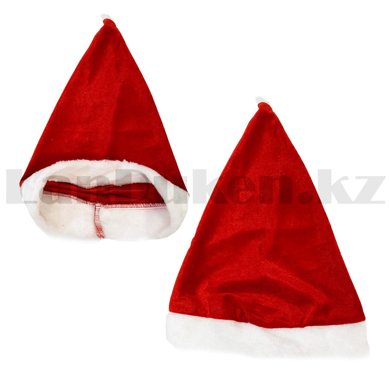 Костюм детский карнавальный раздельный Деда Мороза Аяз Ата красный - фото 7