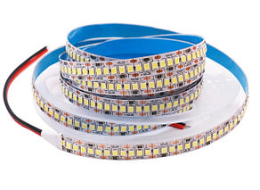 Светодиодная лента SMD 2835 240д/м (Супер Яркая) IP33 12V, 3000К (Теплый), PREMIUM