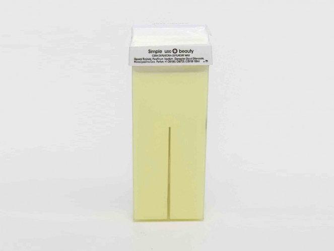 Воск для депиляции SIMPLE USE BEAUTY - KARITE (карите), теплый, картридж, 100 мл