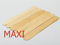 Шпатель деревянный, 200х25 мм, ШИРОКИЙ удлиненный, ZipLock, Simple Use Beauty, 1 шт.