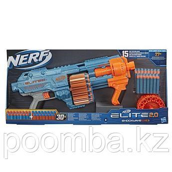 Бластер Nerf (Нёрф) NERF LITE 2.0 SHOCKWAVE Шоквэйв RD-15