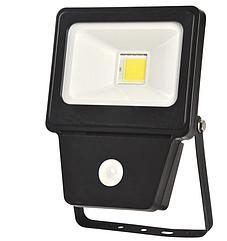 Светодиодный прожектор COB SENSOR 20W BLACK 6000K (TT)