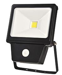 Светодиодный прожектор COB SENSOR 50W BLACK6000K (TS)