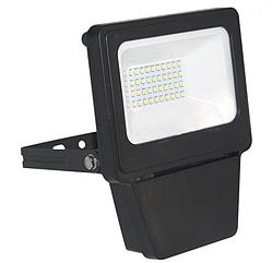 Прожектор светодиодный SMD 20W ЧЕРНЫЙ 6000К (ТС) 28ш