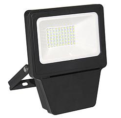 Прожектор светодиодный SMD 30W ЧЕРНЫЙ 6000К (TS)