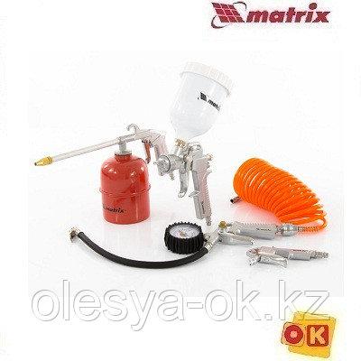 Набор пневмоинструмента, 5 предметов, MATRIX 57304, фото 2