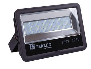 Прожектор светодиодный SMD 100W ЧЕРНЫЙ 6000К (ТЕКЛЕД)
