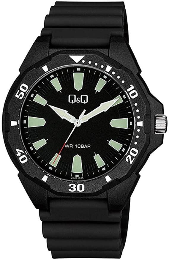 Японские наручные часы Q&Q  VS44J005Y. Гарантия.