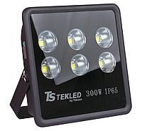 Прожектор LED YH-014 300W ЧЕРНЫЙ 6000K IP66 (TT)