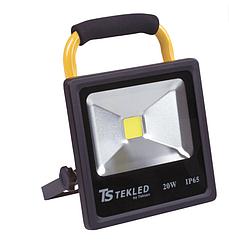 Прожектор LEDSLIM20W Перезар-й сдерж-м BLACK6000K