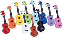 Укулеле (гавайская гитара) и мандолины