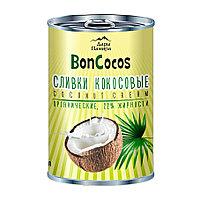 Дары Памира. BonCocos Сливки кокосовые органические 22%, 400мл, ж/б
