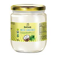 Дары Памира. BonCocos Масло кокосовое органическое холодного отжима (Virgin Coconut Oil), 200мл