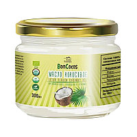 Дары Памира. BonCocos Масло кокосовое органическое холодного отжима (Virgin Coconut Oil), 300мл