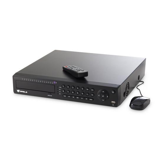 Сетевой видеорегистратор, EAGLE, EGL-NH6016B-VH, 16 каналов, Квадруплекс, Скорость записи: до 400 к/c
