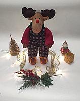 """Мягкая игрушка """"Новогодний олень"""""""
