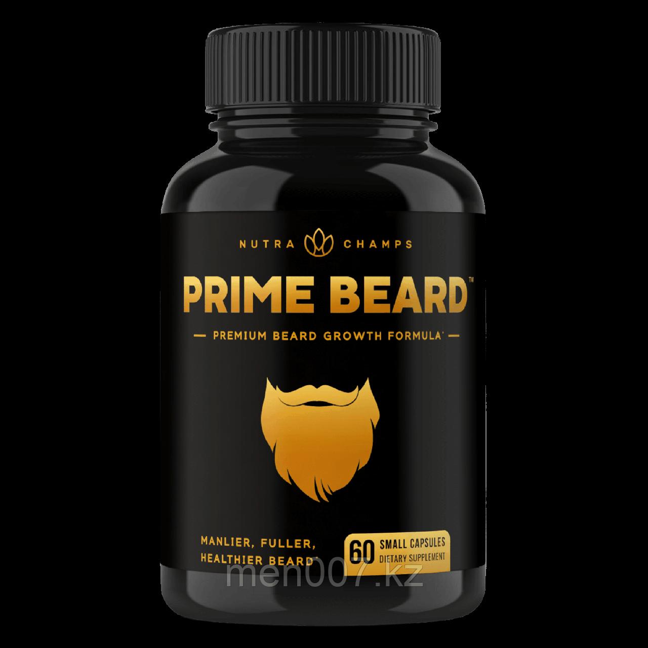БАД Prime Beard витамины для роста бороды, США (60 таблеток)