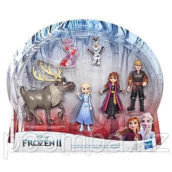"""Hasbro Disney Frozen """"Маленькое королевство"""" Набор приключений из 5 минифигурок, Холодное Сердце"""