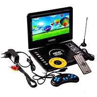 Портативный DVD плеер Portable EVD со встроенным телевизором (14.9)