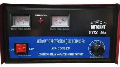 Зарядное устройство для автомобильных аккумуляторов АвтоХит {6/12/24В, 3 степени защиты} (50А)
