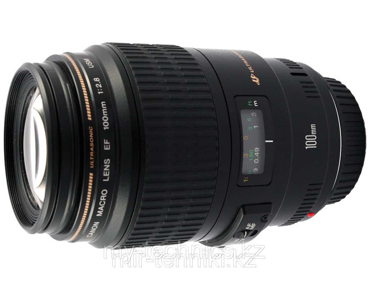 Объектив Canon EF 100 mm f 2,8 Macro USM гарантия 2 года !