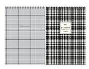 """Блокнот ArtSpace """"Узор. Fashion pattent"""" на спирали, А4, 80 листов в клетку, твердая подложка"""
