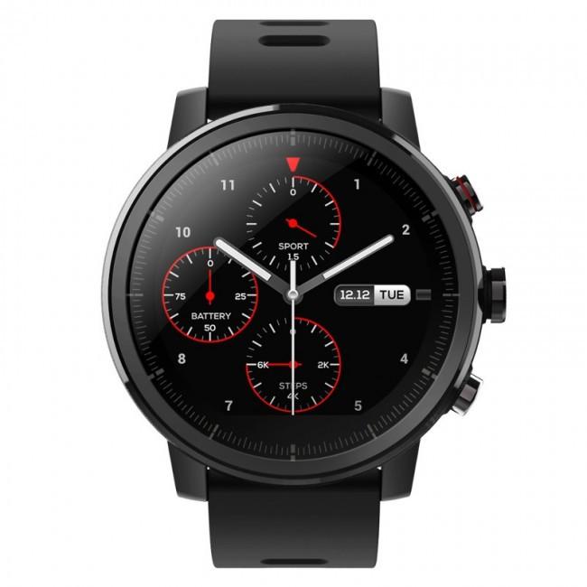 Смарт-часы Xiaomi Amazfit Stratos 2 Smart Sport, Black