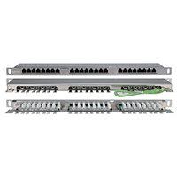 Hyperline PPHD-19-24-8P8C-C5E-SH-110D патч-панель (PPHD-19-24-8P8C-C5E-SH-110D)