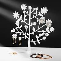 Подставка для украшений 'Дерево', 19*5*20 см, цвет белый (комплект из 2 шт.)