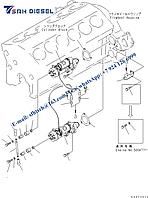 Стартер 600-813-7542 D475A-5 komatsu