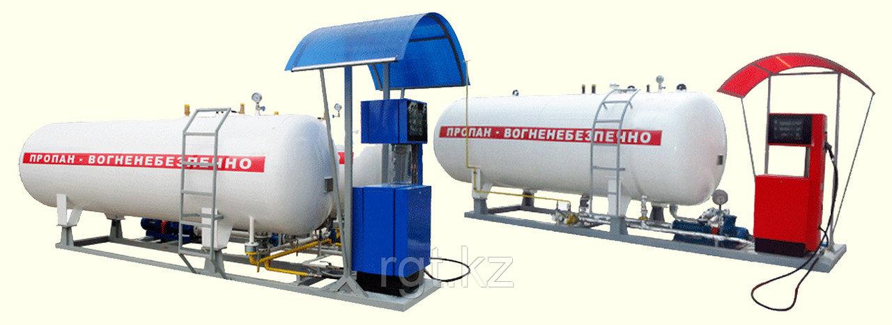 Установка газозаправочная моноблочная 18м3
