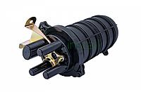 Муфта оптическая тупиковая GJS-2-D 48 (термоусадка), фото 1