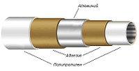 """МПТ РРR/AL PPR 20х2,0;1,0 МПа; Г+110°С """"Лидер"""" бухта 100-150 п/м"""
